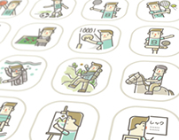 ACTIVITIES  | Vector illustrate pictograms