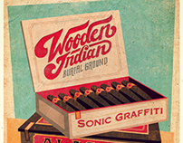 Wooden Indian Burial Ground - Gigposter
