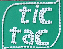 Tic Tac Logo Typography Stop Motion