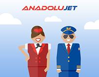 Anadolujet - Illustrations