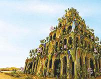 7 Wonders of the World - Hanging Gardens