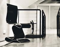 SCULPTURE carbon chair