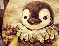 """""""Ms monalisa-penguin""""O_O"""