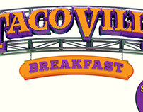 Taco Villa Breakfast Promo Billboard
