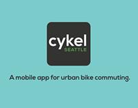 Cykel Seattle App - Promo 1