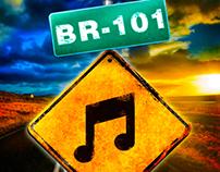 Logo e CD banda BR-101