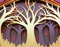Forest Papercuts