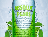 Absolut Vodka 'Pear' Advertisement