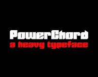 PowerChord - A Heavy Typeface