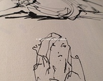 Nude life drawings 2012-2013 – Sketchbook part I