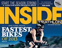 Inside Triathlon magazine Covers