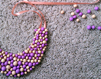 Polymer Clay Necklace (2)
