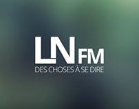 LNFM - A local student radio in Belgium