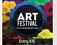 Art Festival Flyer (Premium Stock)