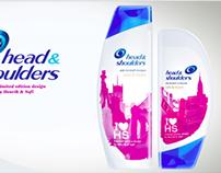 Head and Shoulders - 3D Packshot