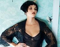 Andrea Klarin ~ lingerie special ~ Weekend Magazine