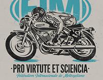 FIM . Fédération International de Motocyclisme