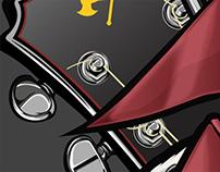 Hard Rock Cafe - Seasonal Illustration Icons