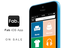 Fab.com Mobile App 6.0 | On Sale