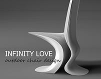 INFINITY LOVE ourdoor chair design