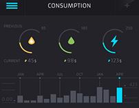 Consumption App