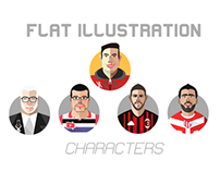Flat Illustration Characters