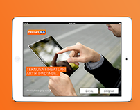 TeknoSA iPad Application