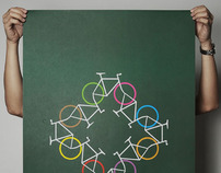 100copies Bicycle+Art Posters