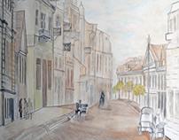 Grodno Sabornaya Street