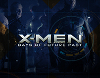 X-Men Website Concept