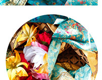 Ceremony-Fabric and Photo Collages