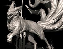 Ninetails - Pose WIP