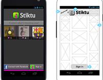 Stiktu 3.0, Android concepts