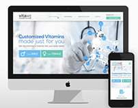 Vitame: UI/UX Website Design