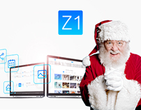 Z1 Free PSD Template | Christmas Holiday Gift