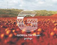 Giorgia Trevisan geologist: Visual Identity