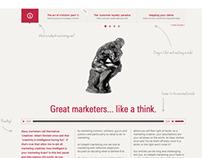 Blog re-design (for indepth-marketing.com)