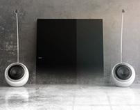 Soundsphere DesignLine speakers   PHILIPS