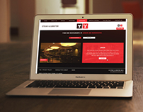 Steak and Lobster Responsive Website