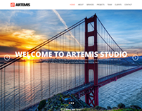 Artemis Responsive One Page Parallax Theme