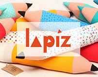 Lapiz - pencil pillow
