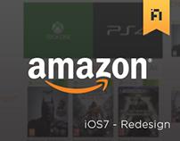 Amazon - iOS7 Redesign
