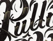 Pullman Yards Custom Lettering