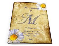 Wedding Programs, Invites, Save the Dates, 2011-2013