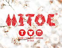 HITOE: Type • T-shirt • Store
