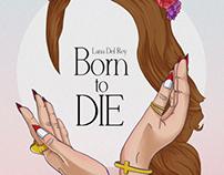 Poster design Lana del Rey