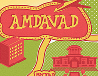 Amdavad- Illustrated