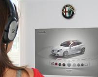 Alfa Giulietta - Interactive Kiosk
