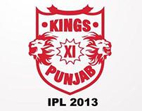Kings XI Punjab Play Cards