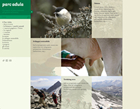 Parc Adula - Website